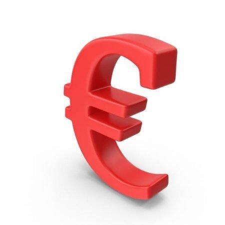 Punainen euron merkki